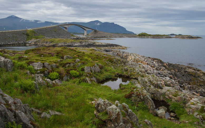 Reisebericht Wohnmobil Norwegen, Atlanterhavsvegen