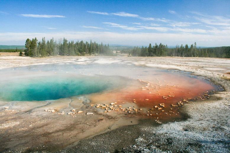 Yellowstone NP, Midway Geyser Basin