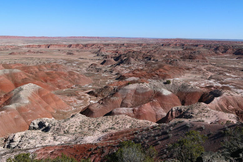 Petrified Forest - Painted Desert, Painted Desert Rim
