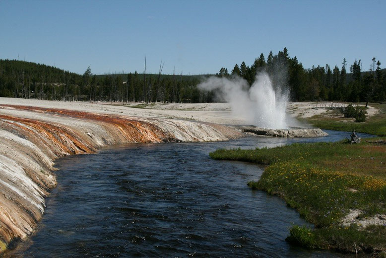 Yellowstone NP, Black Sand Basin