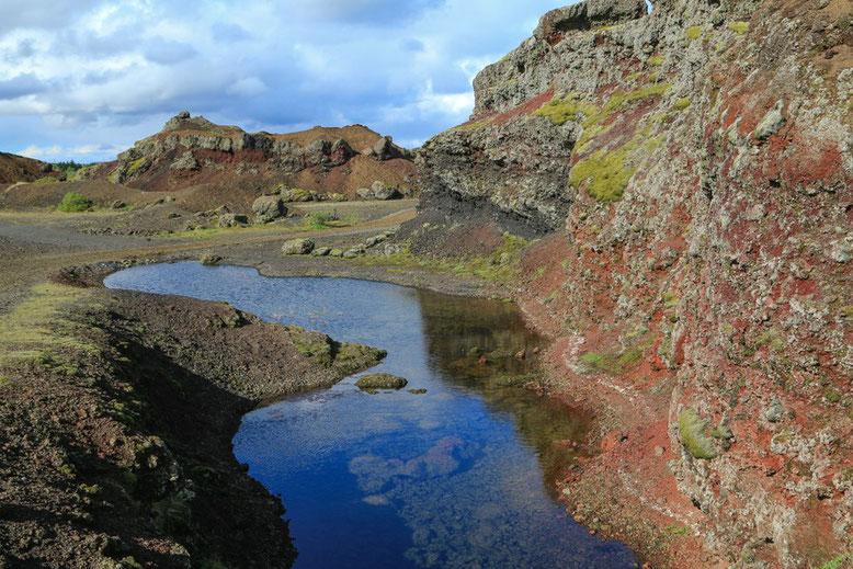 Rauðhólar Heiðmörk