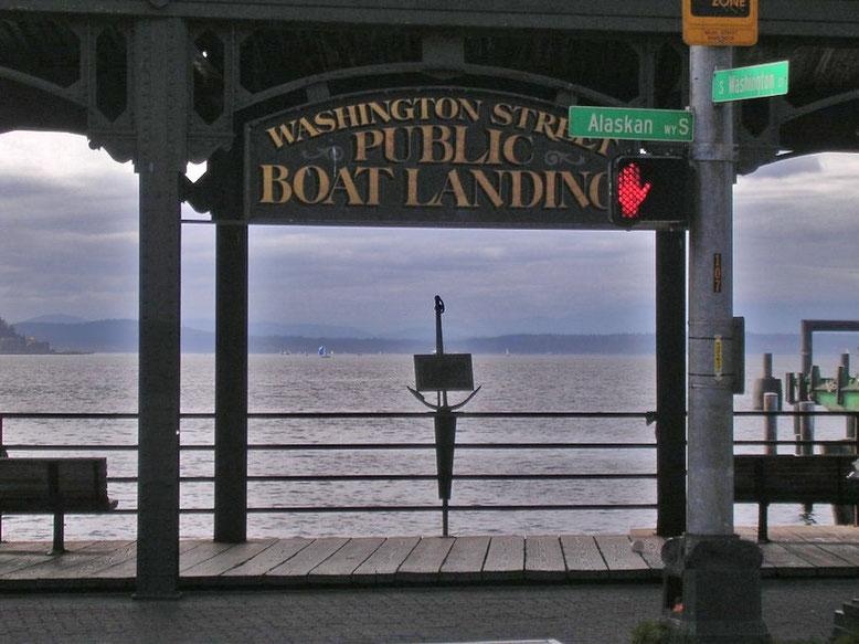 Public Boat Landing, Seattle