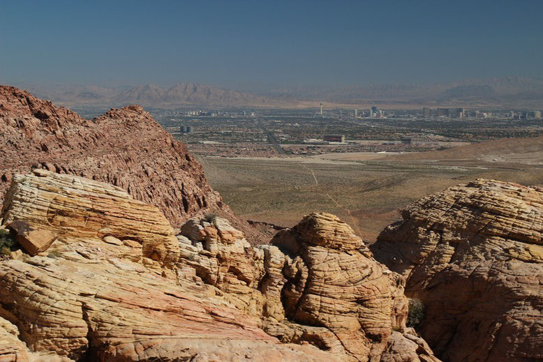 Red Rock Canyon, Calico Tanks Trail