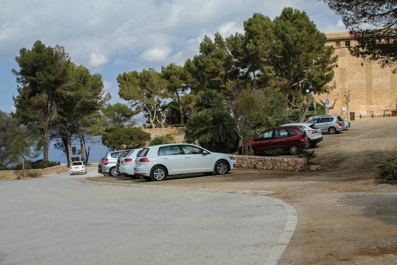Parkplatz Ermita de la Victoria