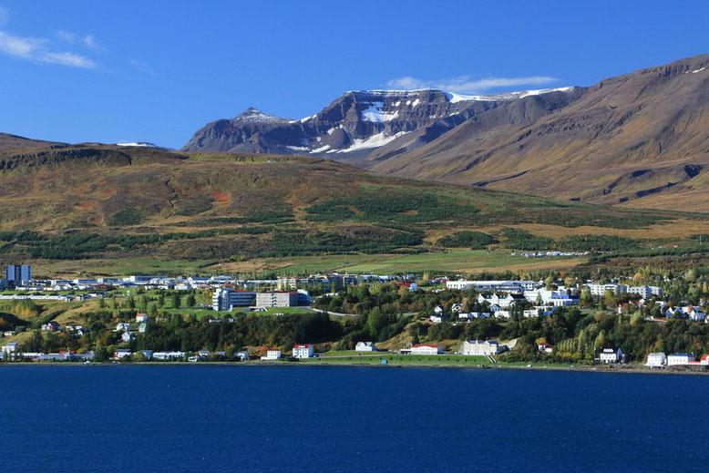 Küstenort Akureyri