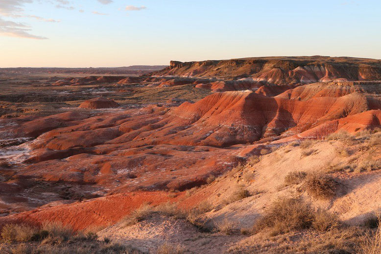 Petrified Forest - Painted Desert, Lacey Point Overlook