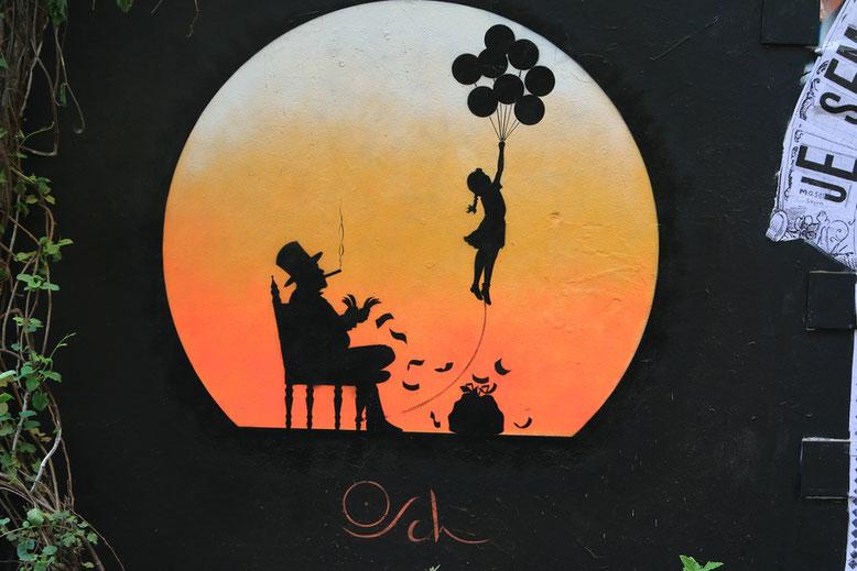 Street Art Graffiti Berlin, Rosenthaler Straße 39