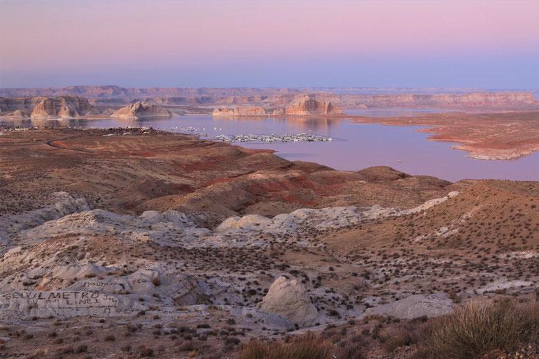 Sonnenuntergang Lake Powell