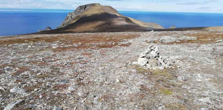 Wanderung zum Måtinden, Andøya