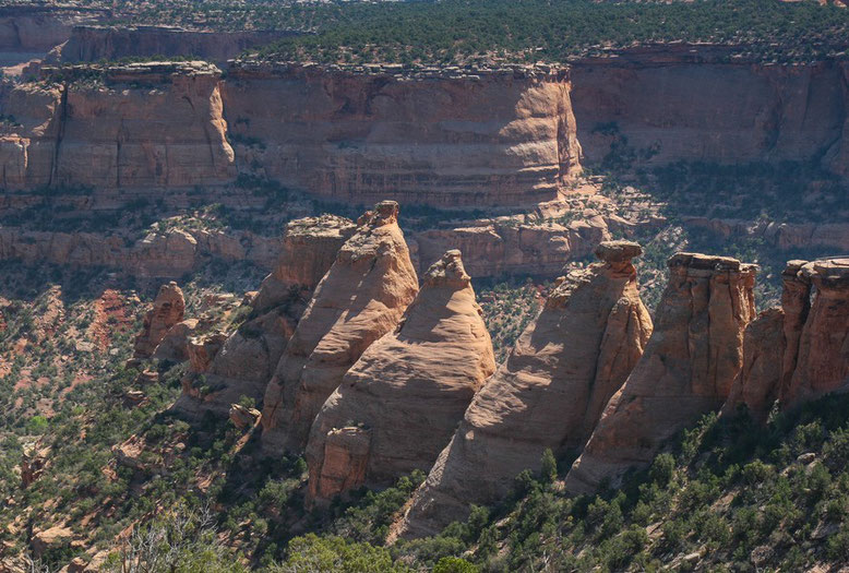 Colorado National Monument, Coke Ovens Overlook