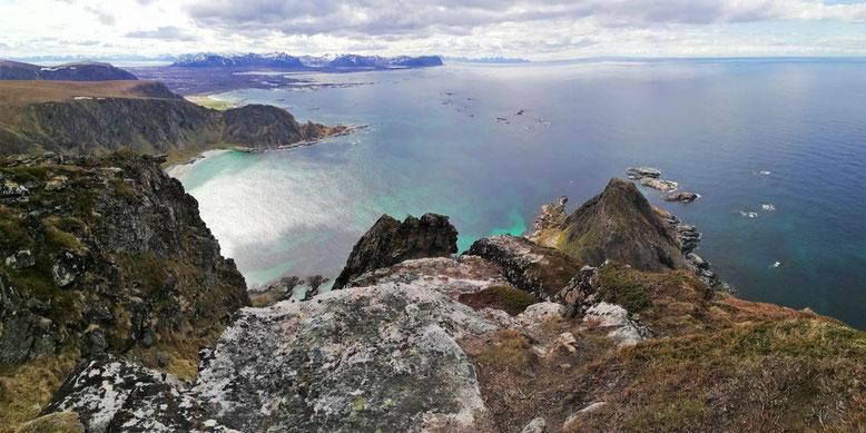 Norwegen mit dem Wohnmobil, Reisebericht, Andøya, Bleik