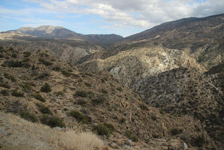 Palm Desert über den Palms to Pine Hwy, CA 74