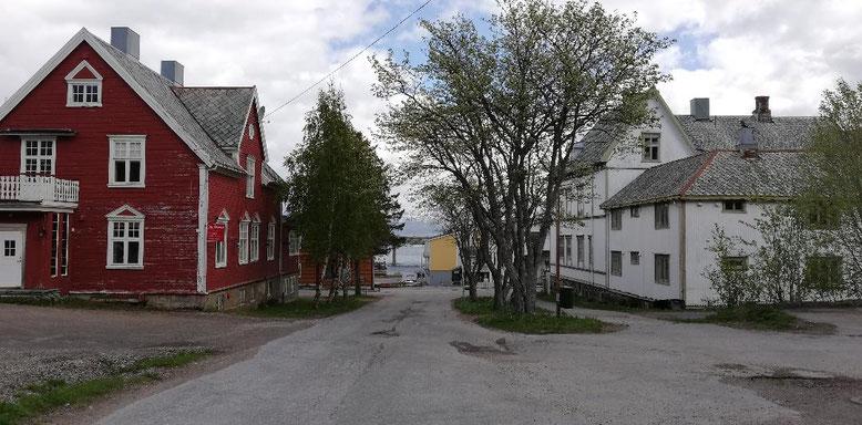 Stokmarknes, Langøya