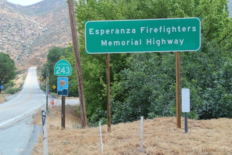 Esperanza Firefighters Memorial Hwy