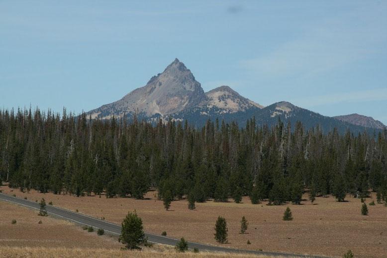 Von hier aus sichtbar das Matterhorn Amerikas, Mt.Hood