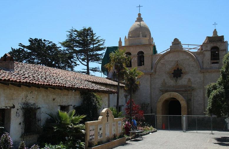 """Spanische Mission """"Basilica San Carlos Borromeo del Rio Carmelo"""" in Carmel, 2013"""