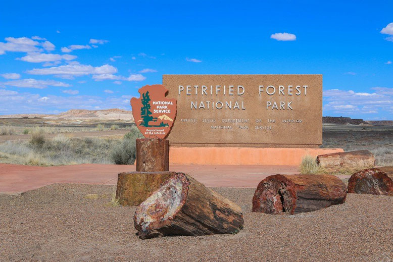 Petrified Forest National Park, Painted Desert