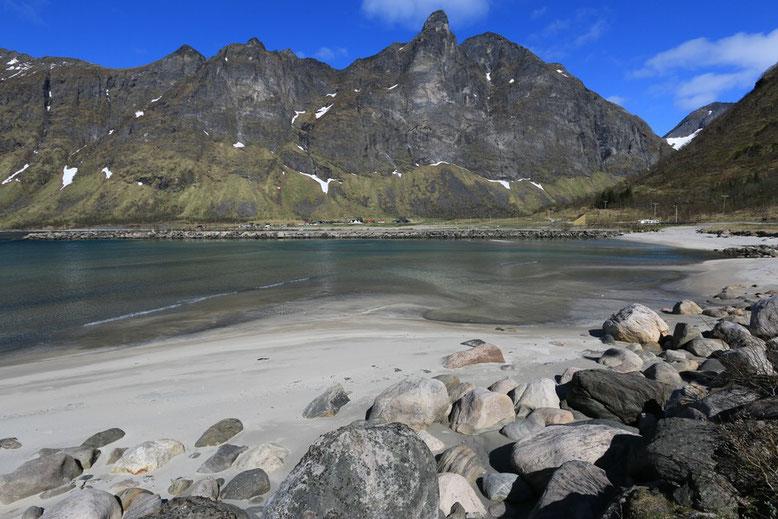 Senja, Ersfjord Beach