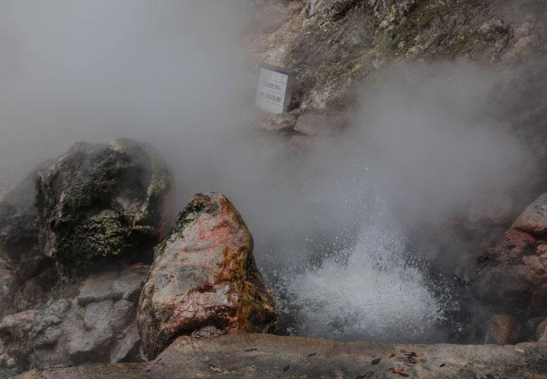 Sao Miguel, Caldeiras Vulcânicas das Furnas
