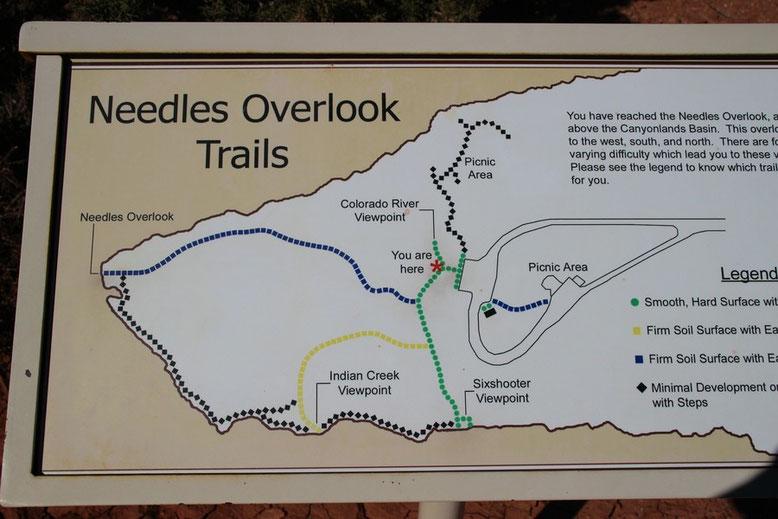 Needles Overlook Trail