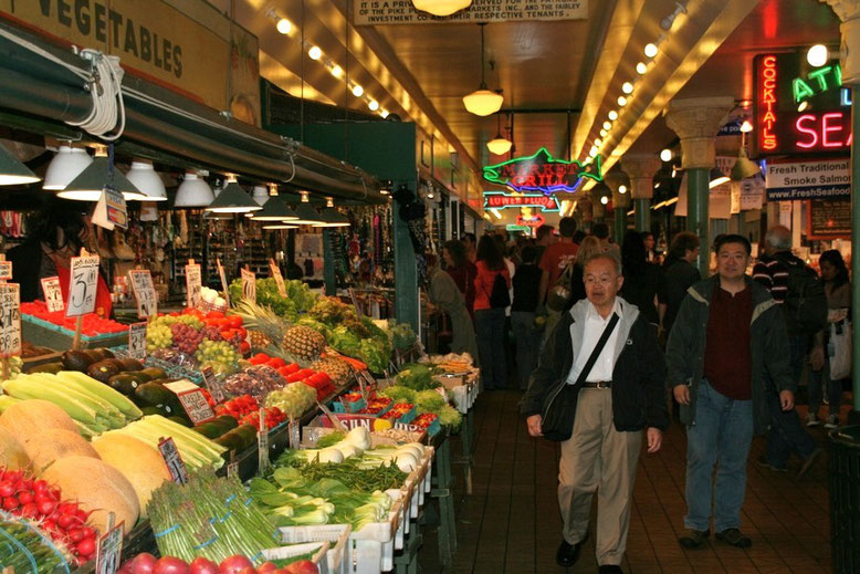 Pike Place Farmers Market, Seattle
