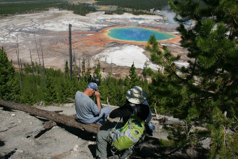Yellowstone, Grand Prismatic Pool