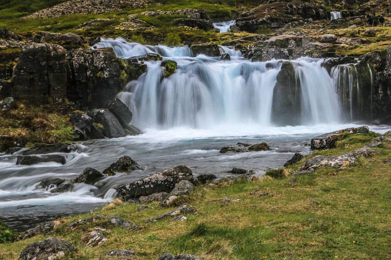 Dynjandi, Fahrt über die Westfjorde