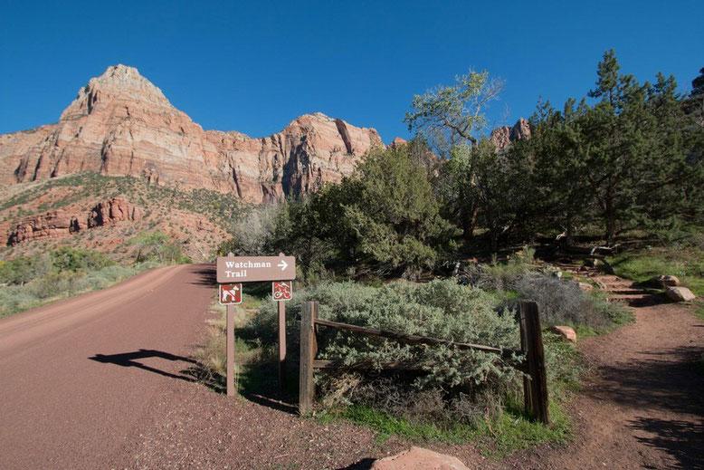 Zion NP - Watchman Trail