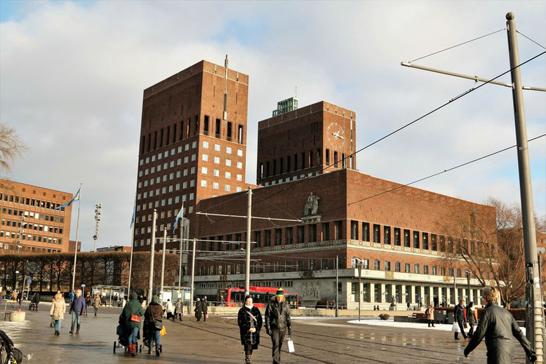 Rådhusplassen 1, 0037 Oslo, Norwegen