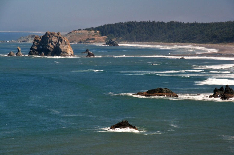 Oregon Coast, Cape Blanco State Park