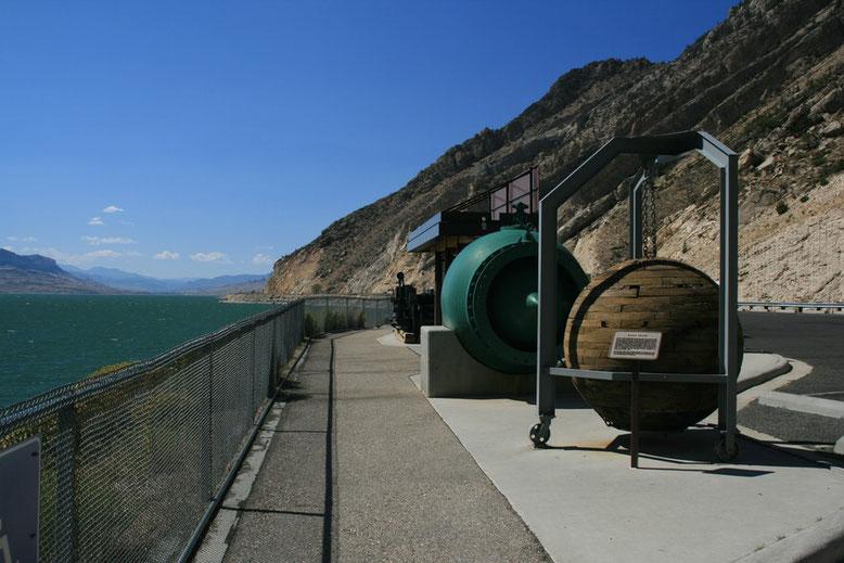 Am Buffalo Bill Dam