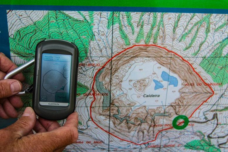 Faial Caldeira Wanderung, 7,1 Km Rundweg