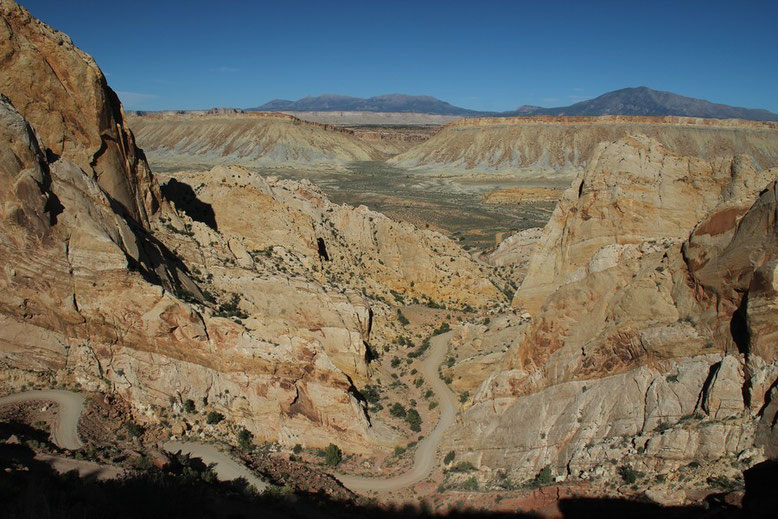 Switchbacks, Burr Trail