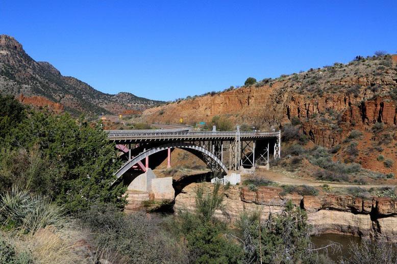 Von Globe über den Salt River Canyon bis nach Holbrook