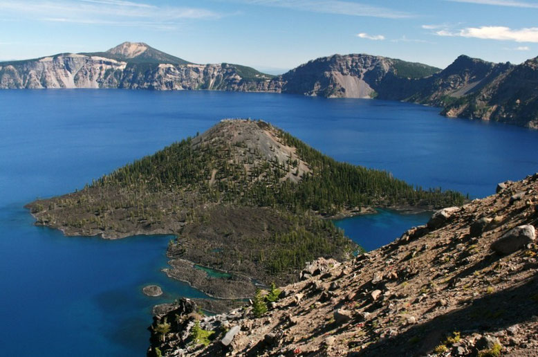 Wizard Island, Crater Lake National Park