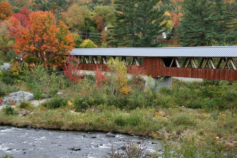 Riverwalk Covered Bridge, Littleton