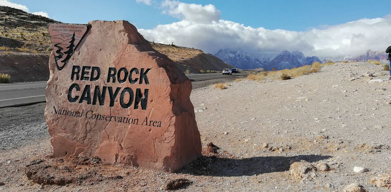 Rund um Las Vegas, Red Rock Canyon