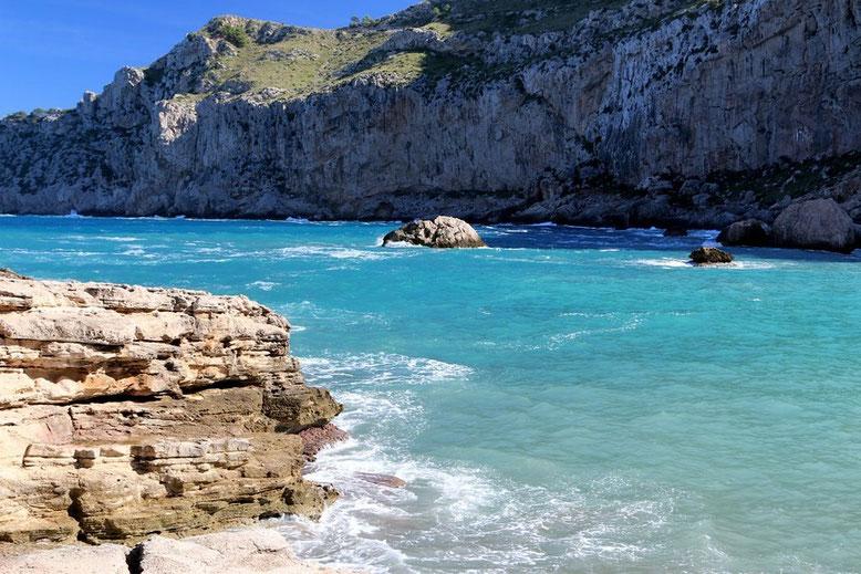 Cala Figuera bei Formentor
