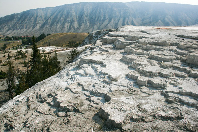 Yellowstone, Mammoth Hot Spring Terraces