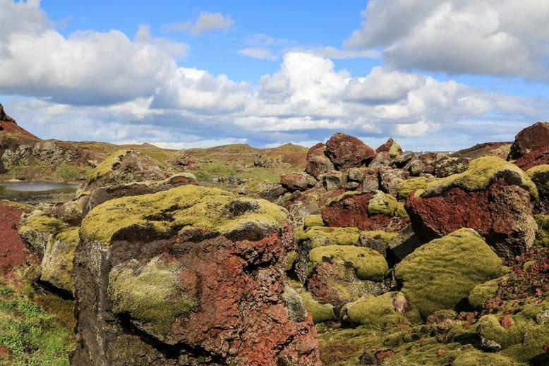 Rauðhólar Heiðmörk, Island