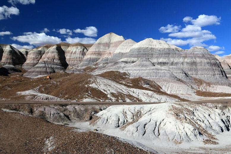Petrified Forest - Painted Desert, Blue Mesa Trail