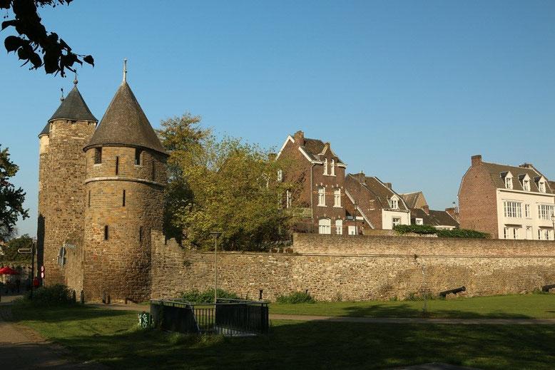 Maastricht, Stadsomwaling