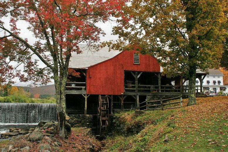 Weston, Vermont Grist Mill