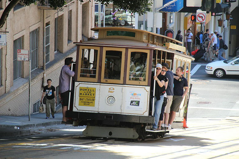San Francisco-Cable Car