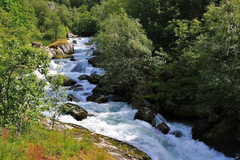 Reisebericht Wohnmobil Norwegen, Briksdalsbreen