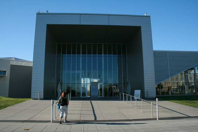 Eingangsportal zu Boeing