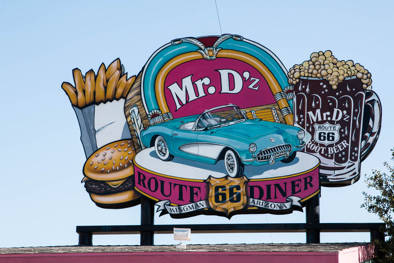 Mr. D'z Dine, Route 66, Kingman