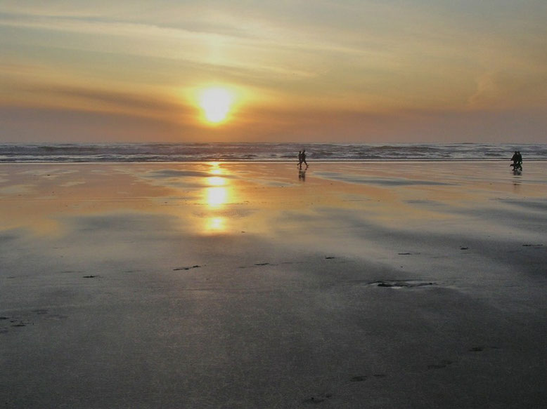 Sonnenuntergang Ocean Shores