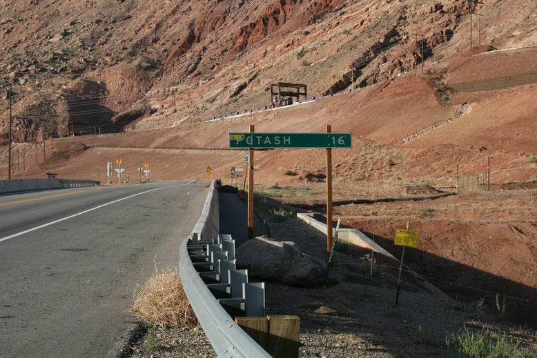 Moab Richtung Potash Road