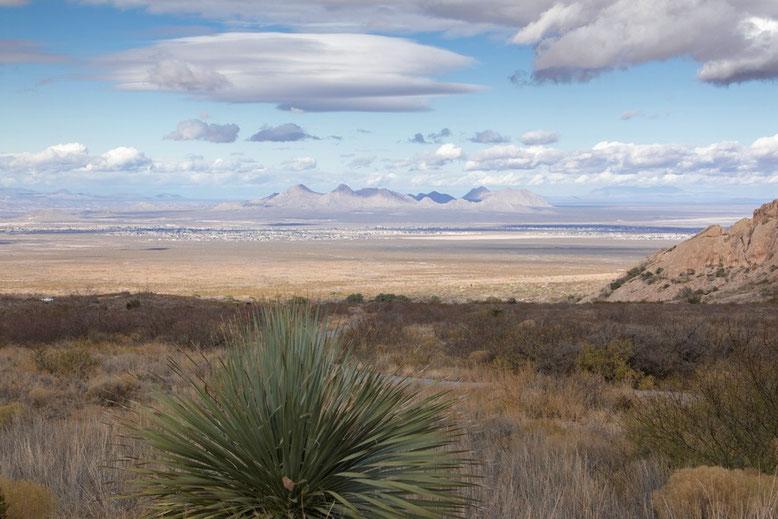 Fahrt Alamogordo , Organ Mountains-Desert Peaks National Monument